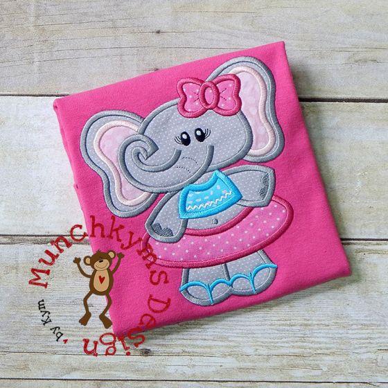 Summer Elephant Girl