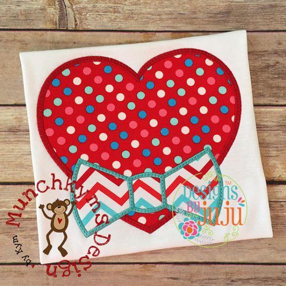 Heart Bow Tie