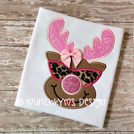 Cool Miss Reindeer