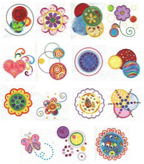 Dots n Doodles Applique