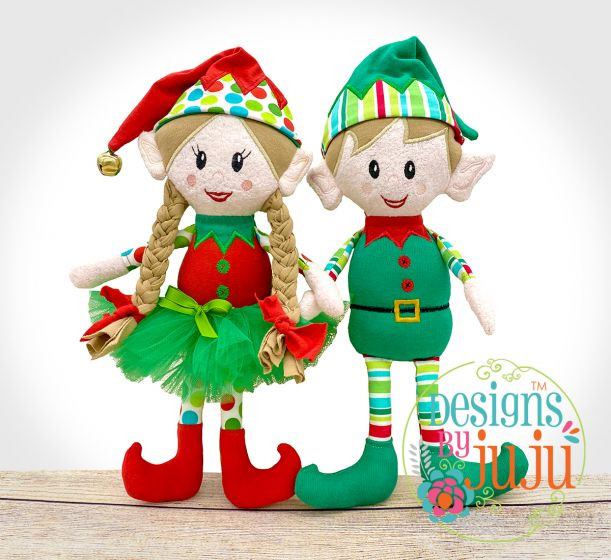 Elvin The Elf In The Hoop