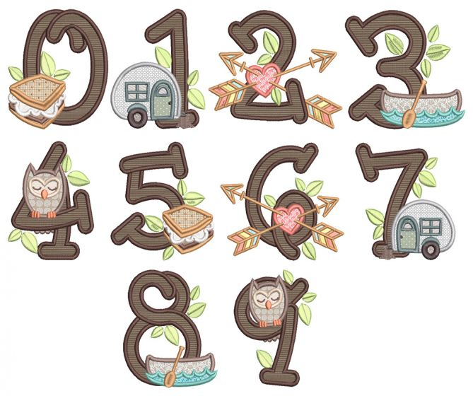 Camping Numbers