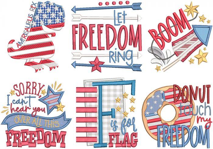 Patriotic Word Art 3