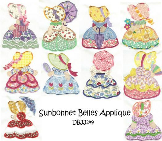 Sunbonnet Belles Applique