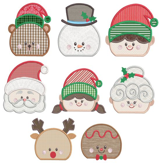 Christmas Peeker Toppers 1