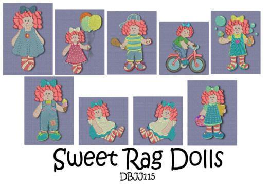 Sweet Rag Dolls