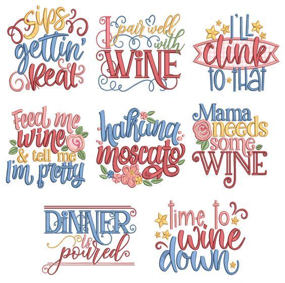 Wine Word Art