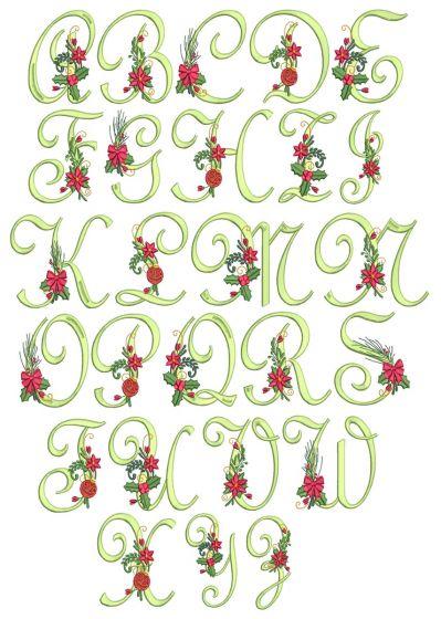 Holly Jolly Monogram