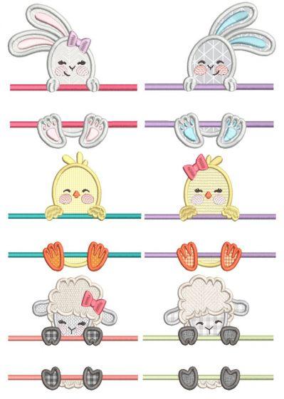 Split Easter Cuties