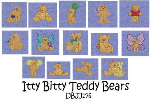 Itty Bitty Teddy Bears