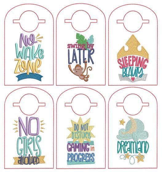 ITH Doorknob Hangers Set 2