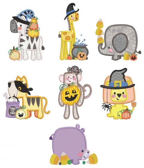 Boxy Halloween Critters