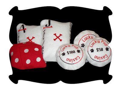 Lucky Pup Casino Toys