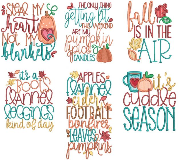 Fall Fun Word Art 1
