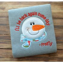 Back Some Day Snowman