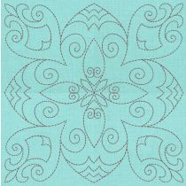 Traditional Quilt Blocks 2 Machine Embroidery Designs by JuJu
