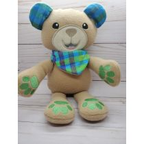 In The Hoop Cute Teddy Bear Softie Toy Machine Embroidery Designs by JuJu