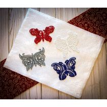 Free Standing Lace Butterflies 1