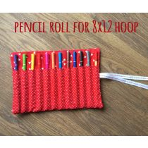 In The Hoop Pencil Roll