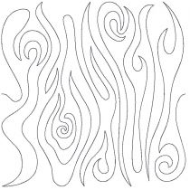 Wood Grain 1 End-to-End Quilting Embroidery Design