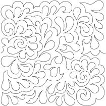 Damask End to End Quilting Design Exclusive Machine Embroidery Designs by JuJu