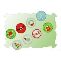 Christmas Button Covers Set 2