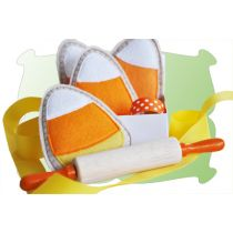 Candy Corn Felt Play Food Cookies In The Hoop