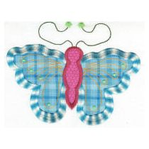 Fun Spring Butterflies Applique