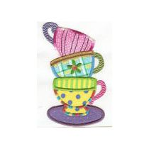 Tea Time Applique