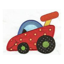 On the Move Applique