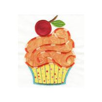 Cute as a Cupcake Applique