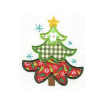 Christmas Patchwork Applique