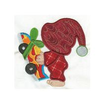 Sunbonnet Sam Christmas Applique