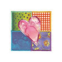 Patchwork Hearts Applique
