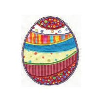 Easter Patchwork Applique