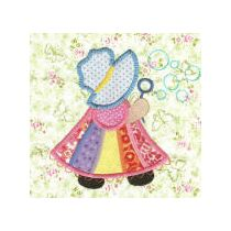 Jumbo Sunbonnet Sue Applique