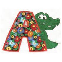 Cute Critters Applique Alphabet