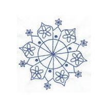 Simply Snowflakes Bluework