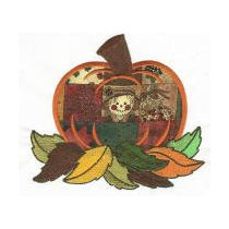 Pumpkin Patch Applique