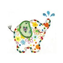 Roly Poly Elephants Applique