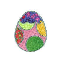 Fun n Funky Easter Eggs Applique