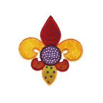 Fleur de Lis Applique