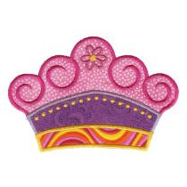 If the Crown Fits Applique