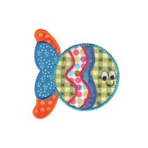 Simply Sweet Fishies Applique
