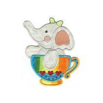 Tea Time Critters Applique