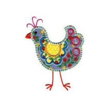 Funky Chickens Applique