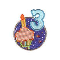 Birthday Wishes Applique