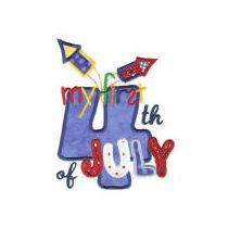 Fun on the 4th Applique
