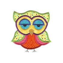 Jumbo A Hoot and a Half Applique Set 1