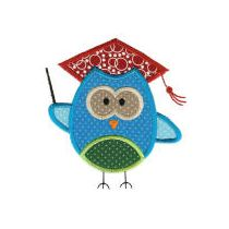 Back to School Critters Applique